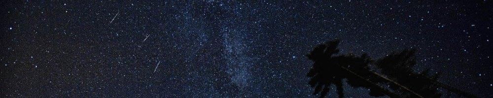 Meteoren hemel